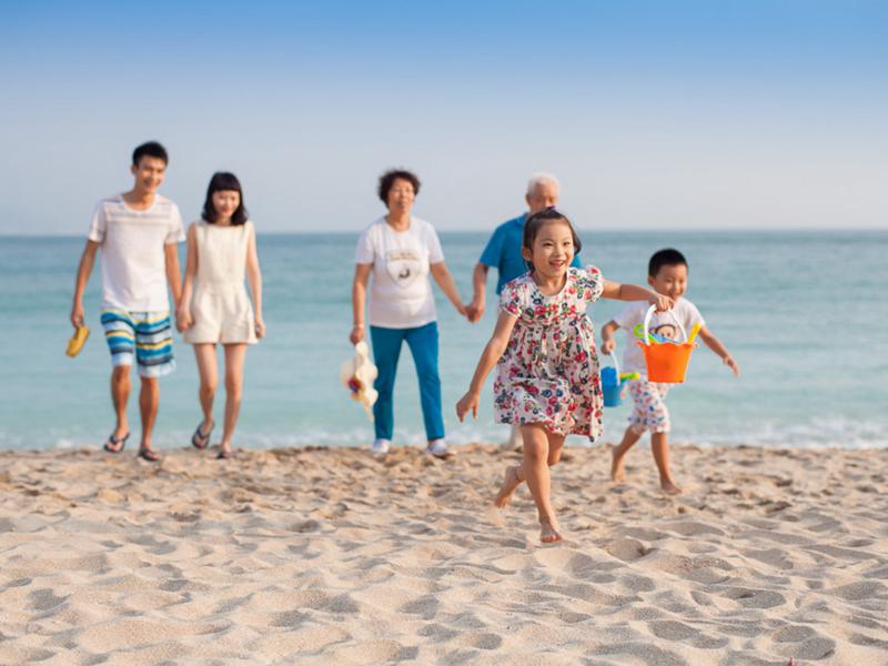 小东海半山半岛度假酒店   专为家庭和亲子游