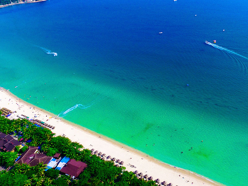 三亚旅游行程设计1_选择度假区