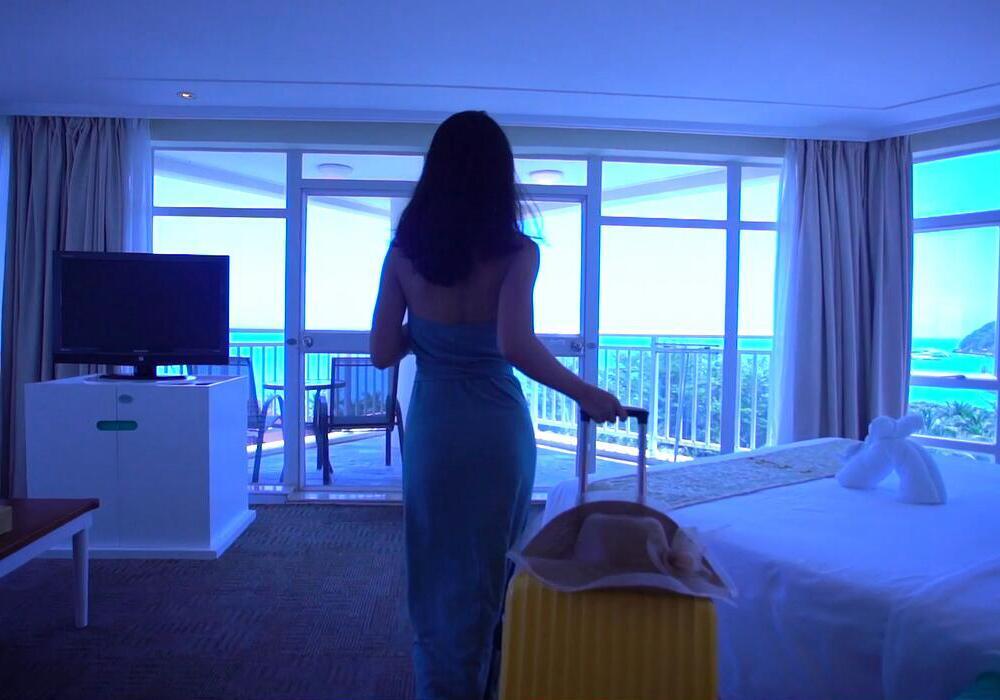 三亚旅游︱大东海银泰阳光度假酒店-2(海景房对比)