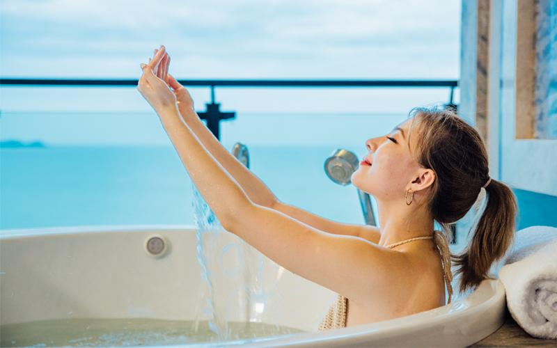三亚湾的异国风情︱唐拉雅秀度假酒店